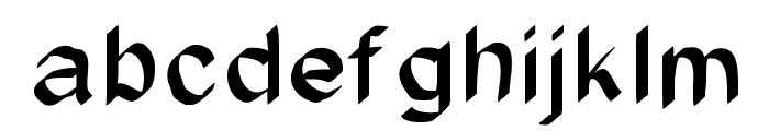 JD Glare Font LOWERCASE