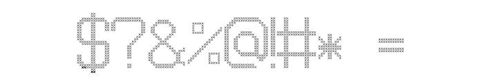 JD Pinwheel Regular Font OTHER CHARS