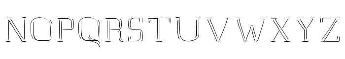 JD Raw Script Regular Font UPPERCASE