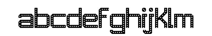 JD RevLED Regular Font LOWERCASE