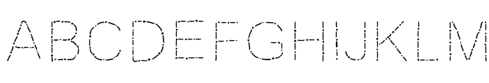 JD Rosaria Font UPPERCASE