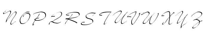 JD Sketched Font UPPERCASE