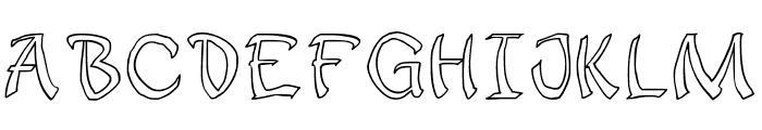 JD Sophara Font UPPERCASE