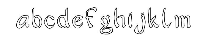 JD Sophara Font LOWERCASE