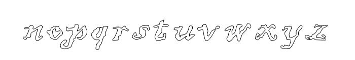 JD Uneven Font LOWERCASE