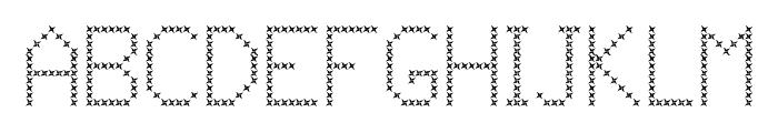 JD Vortex Regular Font UPPERCASE