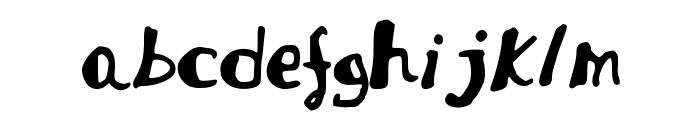 JDFabiola Font LOWERCASE