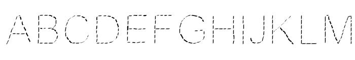 JDFantasy Font UPPERCASE