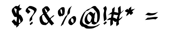 JDFynx Font OTHER CHARS