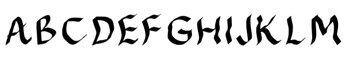 JDFynx Font UPPERCASE