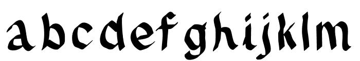 JDFynx Font LOWERCASE