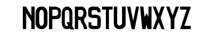 JDMGT-R34 Font UPPERCASE