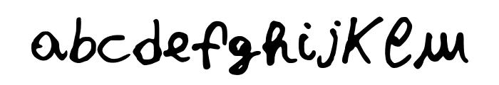 JDStefania Font LOWERCASE