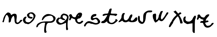 JDTreasure Font LOWERCASE