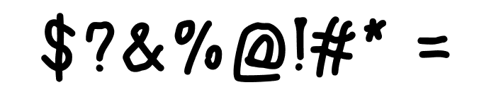 JDTyr Font OTHER CHARS