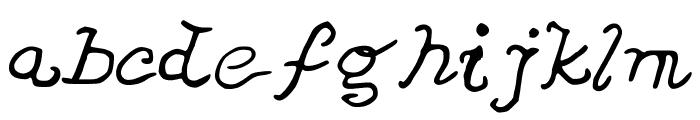 JDVeronica Font LOWERCASE