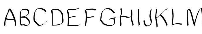 JDWave Font UPPERCASE