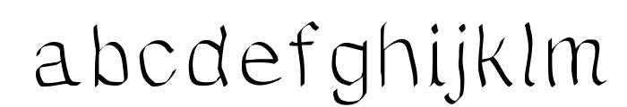 JDWave Font LOWERCASE