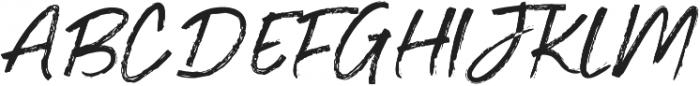 Je Taime Regular otf (400) Font UPPERCASE