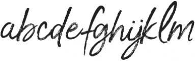 Je Taime Regular otf (400) Font LOWERCASE