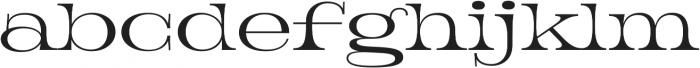 Jeames Light otf (300) Font LOWERCASE