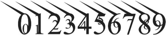 Jean Splice UpLeft otf (400) Font OTHER CHARS