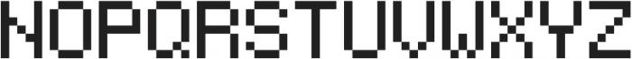 Jeebz ttf (400) Font UPPERCASE