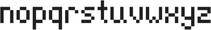 Jeebz ttf (400) Font LOWERCASE