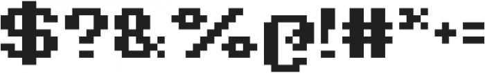 Jeebz ttf (700) Font OTHER CHARS