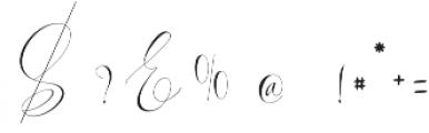 Jelisa otf (400) Font OTHER CHARS