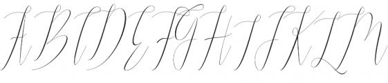 Jelisa otf (400) Font UPPERCASE