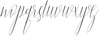 Jelisa otf (400) Font LOWERCASE