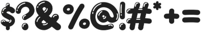 JellyBelly Font otf (400) Font OTHER CHARS