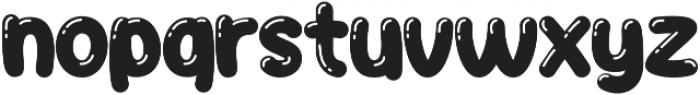 JellyBelly Font otf (400) Font LOWERCASE