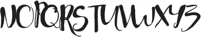 Jellybeans otf (400) Font UPPERCASE