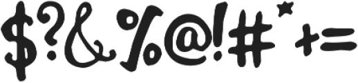 Jemmer otf (400) Font OTHER CHARS