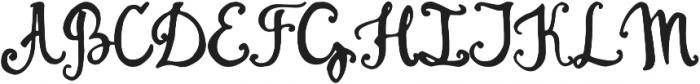 Jemmer otf (400) Font UPPERCASE