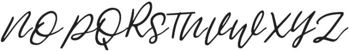 Jemmy Clean otf (400) Font UPPERCASE