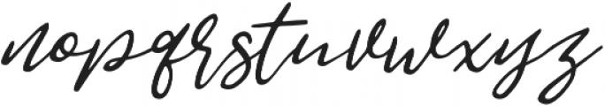 Jemmy Clean otf (400) Font LOWERCASE