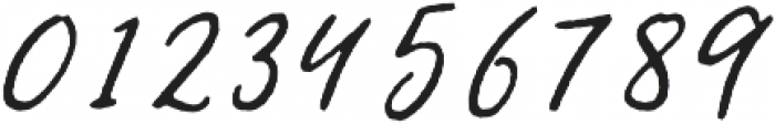 Jemmy Rough otf (400) Font OTHER CHARS