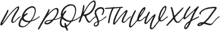 Jemmy Rough otf (400) Font UPPERCASE