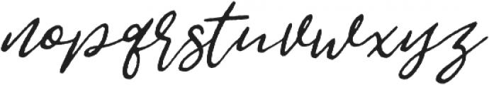 Jemmy Rough otf (400) Font LOWERCASE