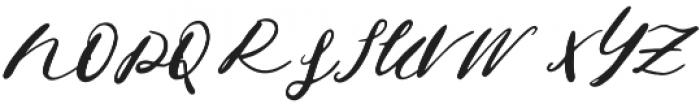 Jeniffer otf (400) Font UPPERCASE