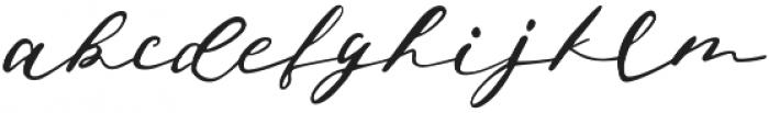 Jeniffer otf (400) Font LOWERCASE