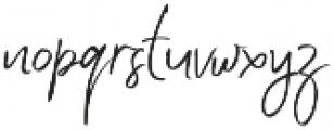 Jenny Simol Regular otf (400) Font LOWERCASE