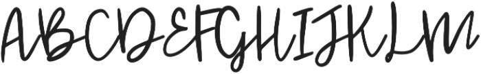 Jenthill Light otf (300) Font UPPERCASE