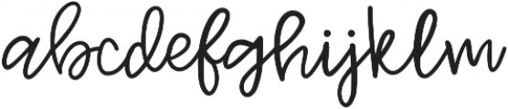 Jenthill Light otf (300) Font LOWERCASE