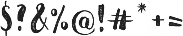 Jeremy otf (400) Font OTHER CHARS