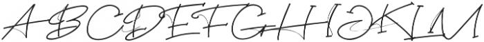 Jericho King Regular otf (400) Font UPPERCASE