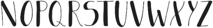 Jericho otf (400) Font LOWERCASE